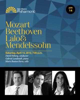 NM Philharmonic Concert, April 14