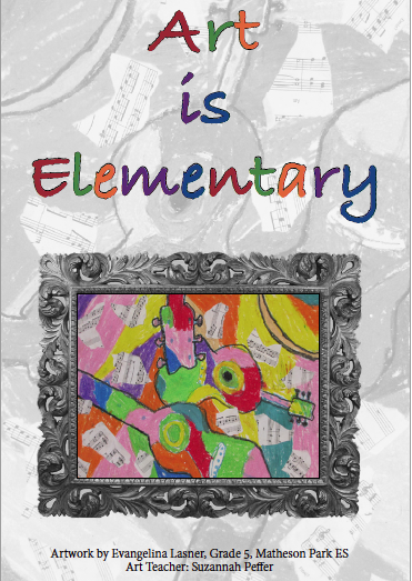 Art Is Elementary Invitation