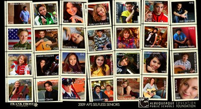 2009 Selfless Senior Collage