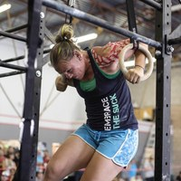 Deanna McGillivray cross trains with CrossFit