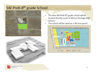 Pre-Kindergarten to 8th grade School on Southwest Mesa