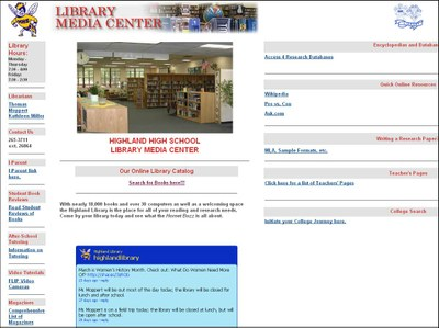 Highland Library Site