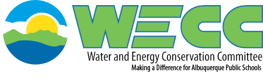 "WECC logo captioned, ""Making a difference for Albuquerque Public Schools"""