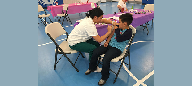 Students Can Get Free Flu Shots at School