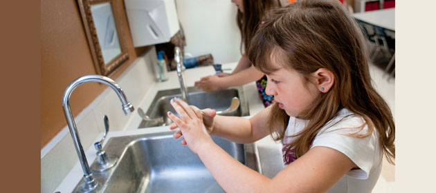 Best Way to Stay Healthy? Wash Your Hands!