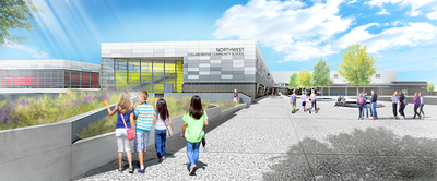 Render of NW K-8 Community Collaborative