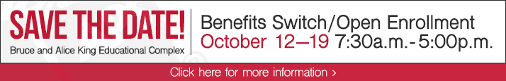 Benefits Switch Enrollment - Save the Date
