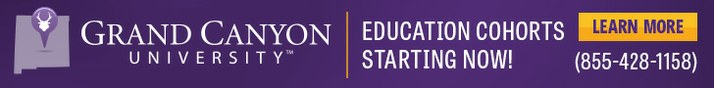 Grand Canyon University banner for Employees