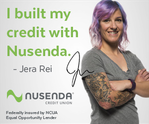 """I built my credit with Nusenda."" - Jera REi"