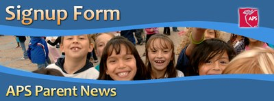 Subscribe to APS Parent News