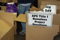 Homeless Project Donations 2