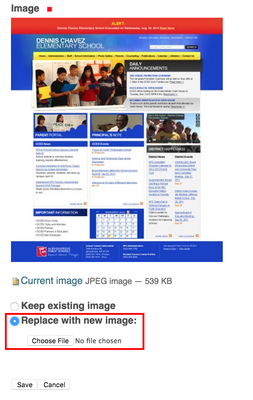 Replace Image File
