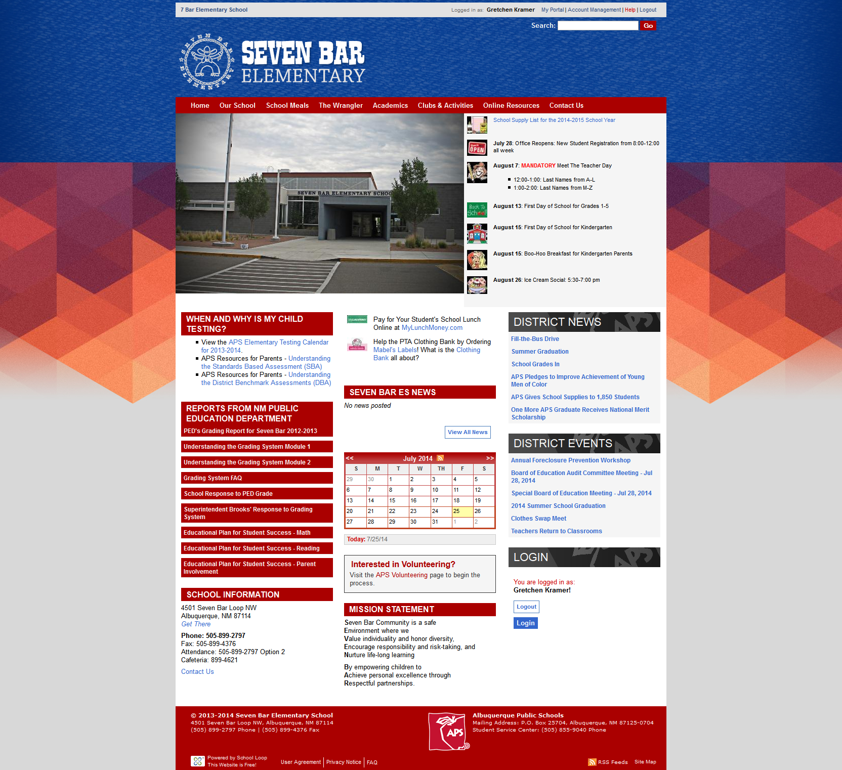 7 Bar Website Launched