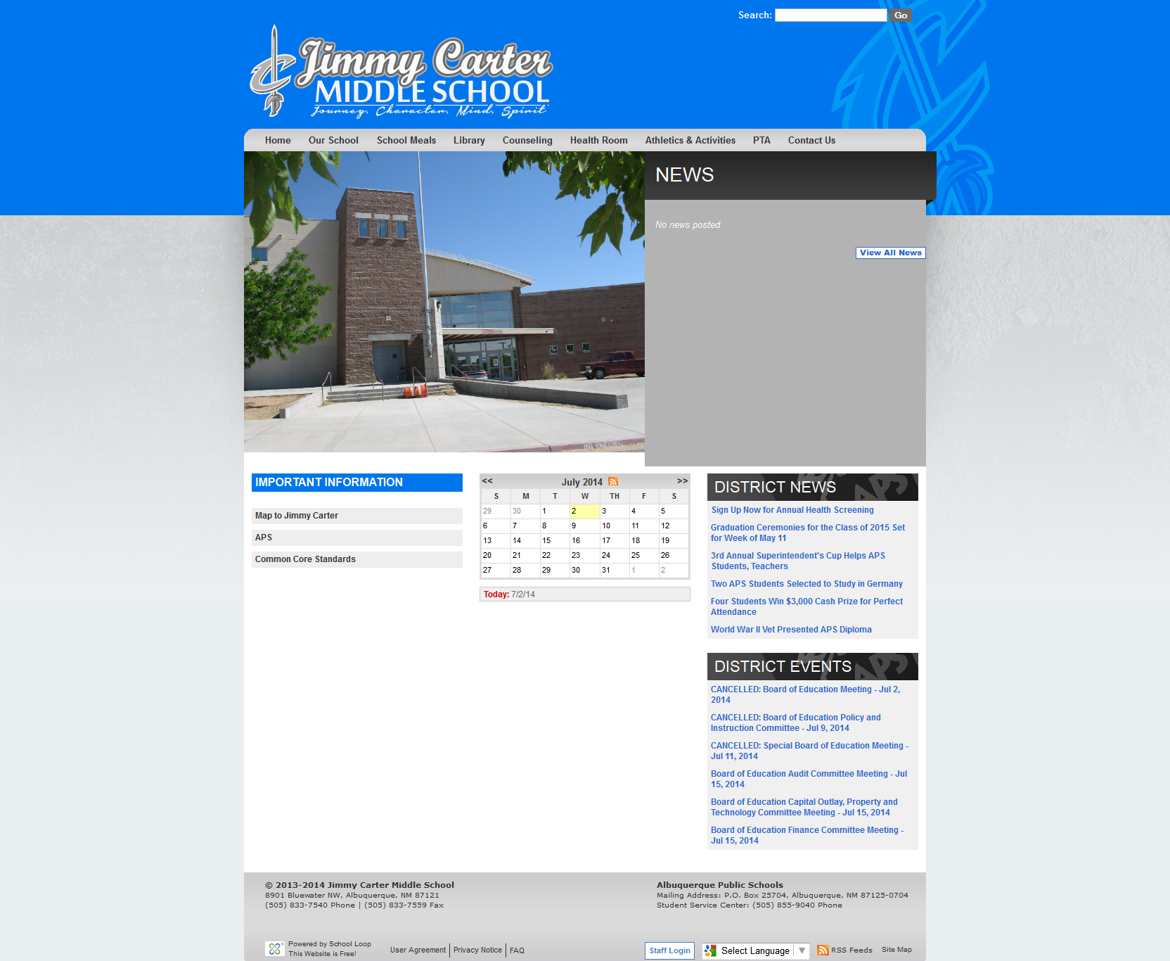 Jimmy Carter Website Launched
